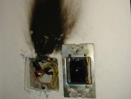 xử lý điện chập cháy tại quận hà đông